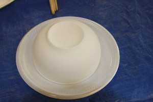 empty bowls project - A greenware bowl