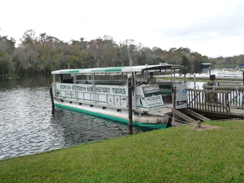 DeLeon Springs Boat Tour shows history's wake