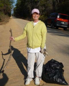 Give a day - trash cleanup