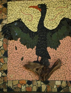 Funky Florida - cedar key - mosaic bird