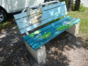 Englewood - painated benches