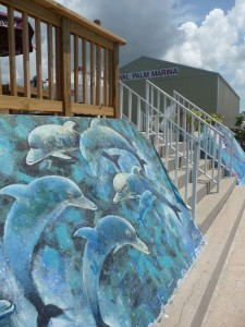 Olde Englewood Village - fish murals