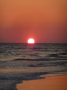 Florida beaches - Lido Beach sunset