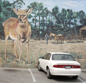 Florida history - mural in DeLand