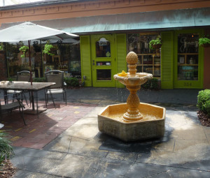 Winter Park - interior courtyard