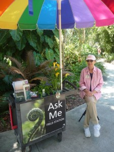 Volunteer in Florida - bonnie Sexton is a volunteer at Selby Gardens, Sarasota
