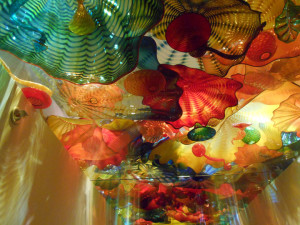 Downtown St. Petersbur - chihuly glass museum