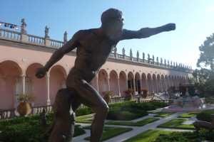 Florida art museum, statue, Ringling Museum, Sarasota
