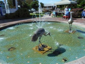 Wauchula - Heritage park fountain