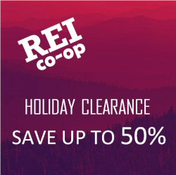 Save at the REI holiday sale!