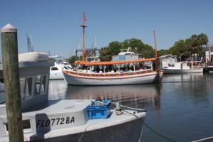 Go Greek - sponge boat