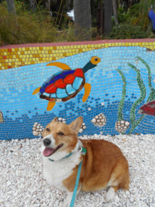Old Cedar Key Walking Tour - Obi and mosaics