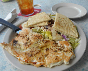 Palmetto - dieters delight at Riverside Cafe