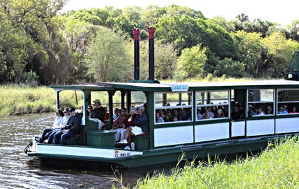 Myakka River State Park has a Airboat Tour – all aboard!