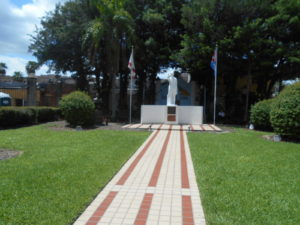 Jose Marti park in Historic Ybor City