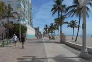 Hollywood, Florida boardwalk