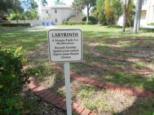 Hollywood, Florida labyrinth