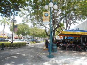 Hollywood, Florida historic downtown