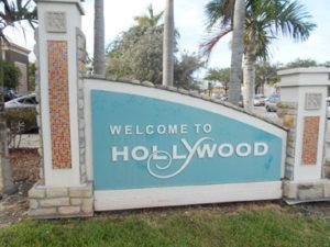 Hollywood, Florida sign